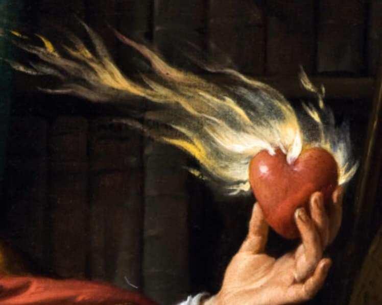 Art Saint Augustine by Philippe De Champaigne