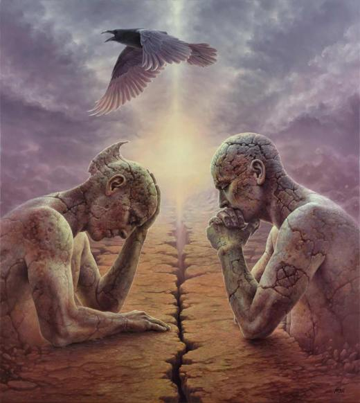 Tomasz Alen Kopera Art Bridging two perspectives